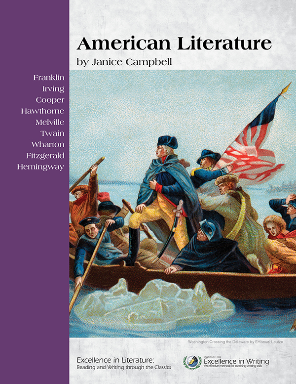 American Literature: English 3 level of Excellence in Literature