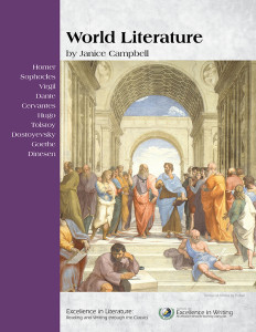 World Literature: English 5 level of Excellence in Literature and World Literature texts for reading.