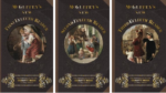 1857 McGuffey Readers Set of 1, 2, and 3, with instructions for use with Charlotte Mason methods.