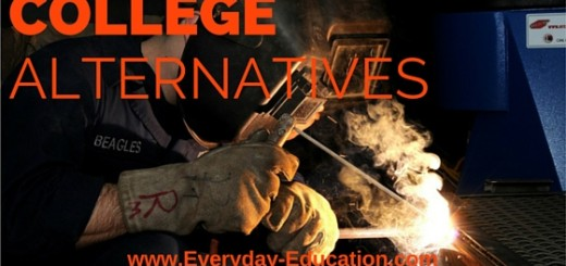 Skilled trades, entrepreneurship, apprenticeships, and guilds are excellent college alternatives.