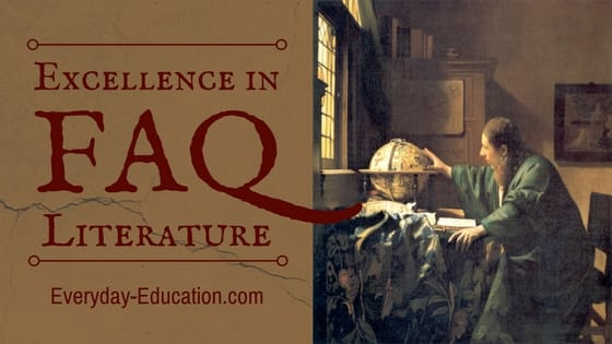 Frequently asked questions about the Excellence in Literature curriculum by Janice Campbell